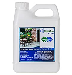 Serveon Sealants H2Seal H2100 Stone Sealer - Professional Grade for Natural Stone, Grout, Brick, Tile and Artificial Stone (1 Quart, Stone Sealer)