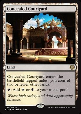 Magic: the Gathering - Concealed Courtyard (245/264) - Kaladesh