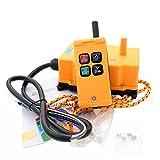 creatorele 4 Key Crane Industrial Remote Control Wireless Transmitter Push Button Switch (AC/DC12-24V)