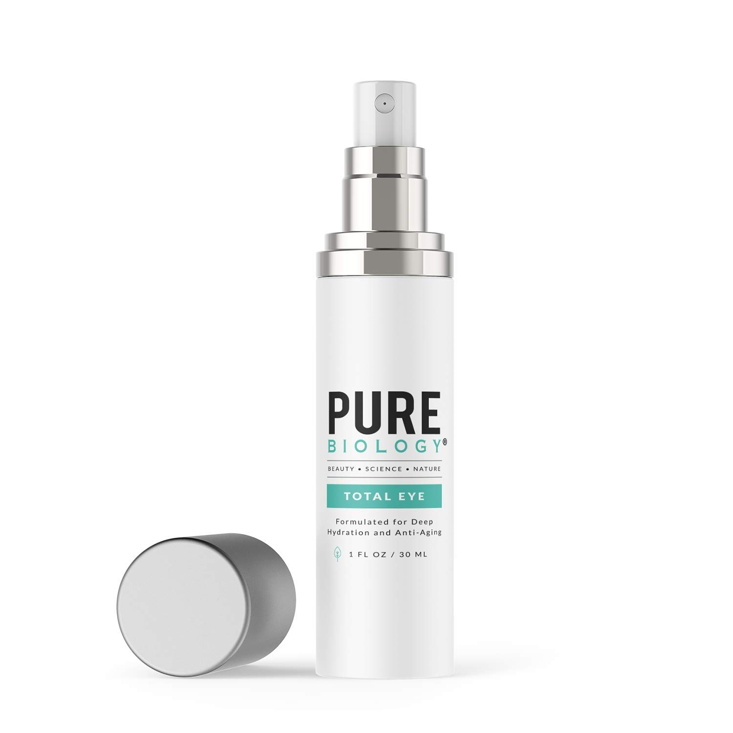 Pure Biology is The Best Under Eye cream Under $50
