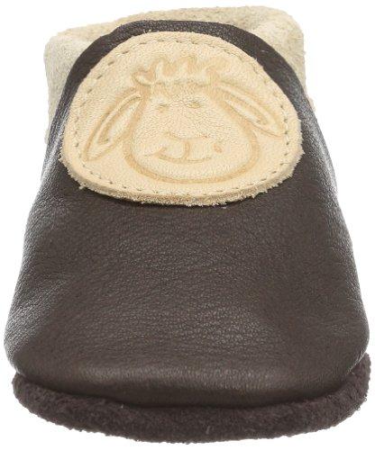 Pololo Pololo Soft Horst The Sheep - Zapatillas sin cordones marrón - Braun/braun/natur