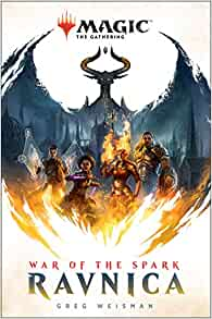 Magic the gathering ravnica war of the spark book