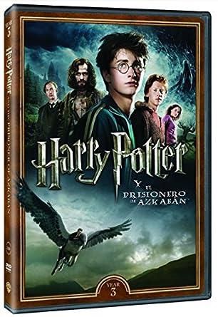 Harry Potter. El Prisionero De Azkaban. Nueva Carátula DVD: Amazon ...