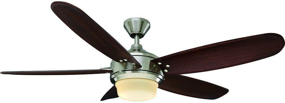 Home Decorators Collection Breezemore 56 in. Indoor Brushed Nickel Ceiling Fan