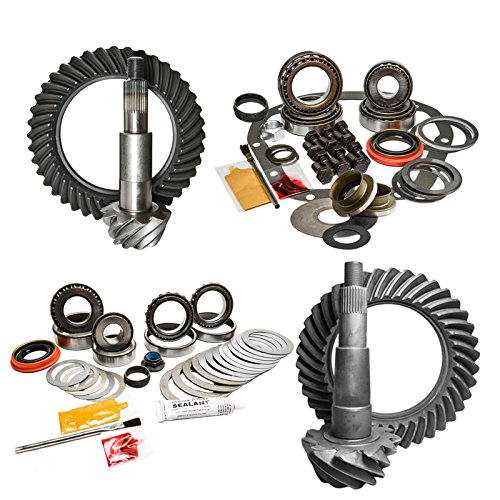 Nitro (GPF150-2-4.56) 9.75'' Front and Rear 12-Bolt 4.56 Ratio Gear Package Kit for Ford F-150 by Nitro