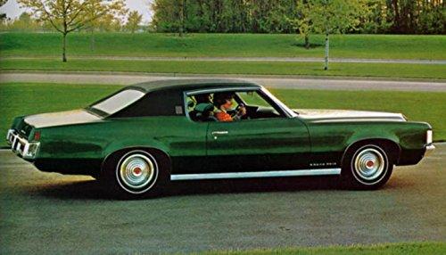 1969 Pontiac Grand Prix Hardtop Coupe Factory Photo