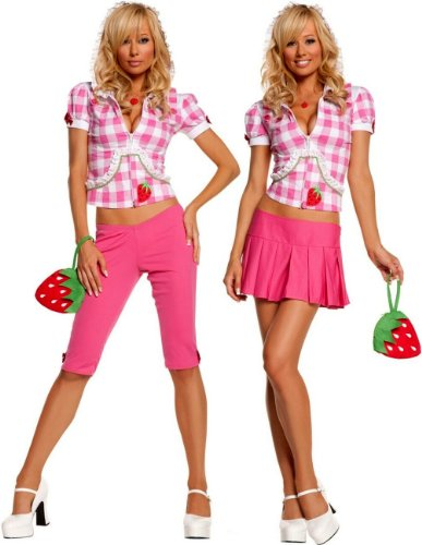 Elegant Moments - Strawberry Sweetie Adult Costume