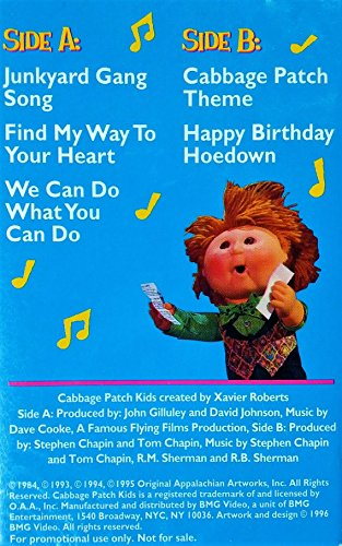 Songs From The Cabbage Patch Kids