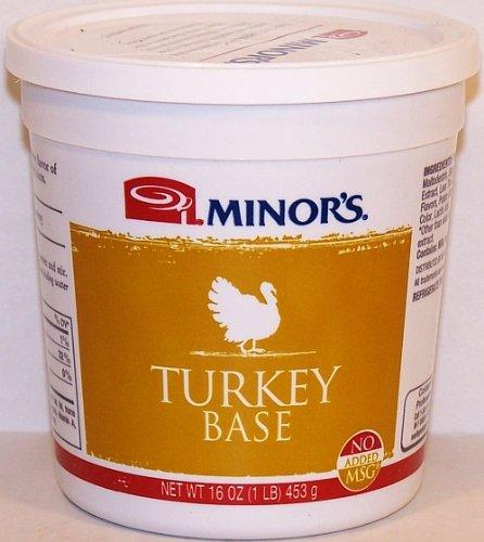 Minor's Turkey Base No Gluten, No Added MSG 16 Ounce