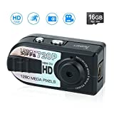 Toughsty 16GB Mini Pocket DV Camera Small Compact Travel Digital Video Camcorder Motion Activated