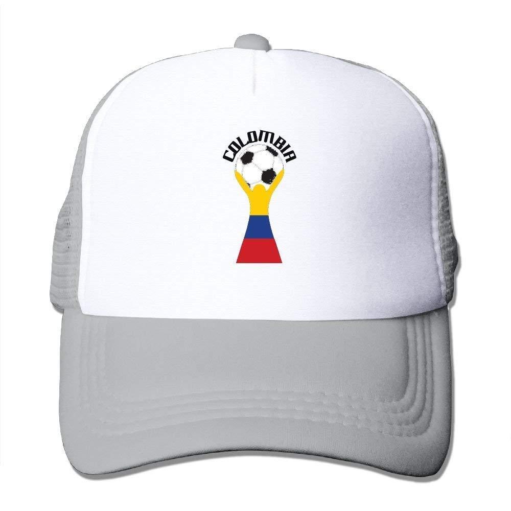 Wfispiy Victoria del Equipo de fútbol Colombiano Adulto Gorras de ...