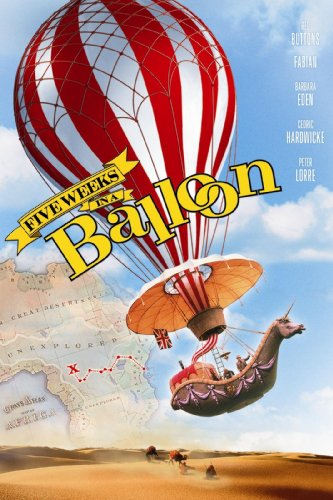 Film Red Balloon (Five Weeks In A Balloon)
