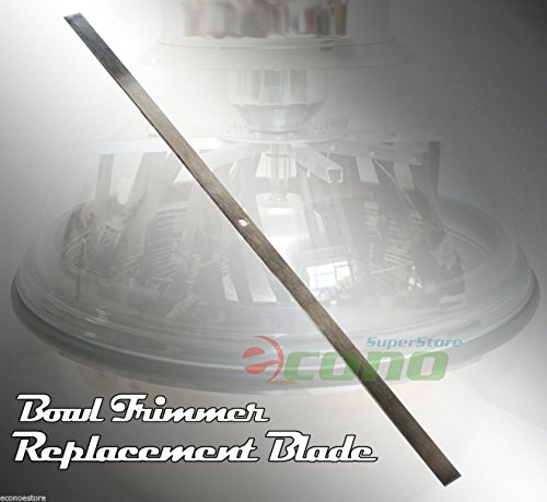 """2pc Replaced Cutter Blade 4 Hydroponic 16"""" Bud Tumbler Bowl Twisted Trimmer"""