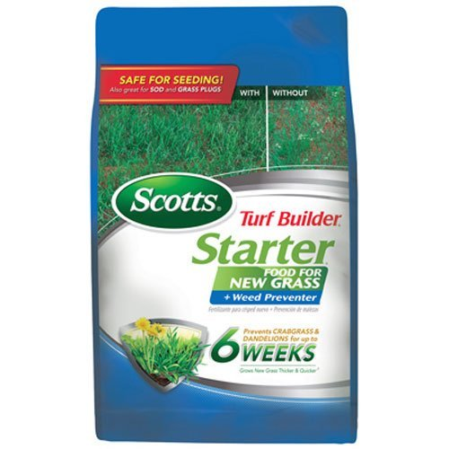 Scotts Turf Builder Lawn Food - Starter Food - Scotts Starter Fertilizer
