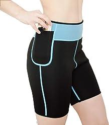 ac86b6d25cc AICONL Women s Hot Sweat Body Shaper Neoprene Thigh Fat Burning Slimming  Sauna Suit Calorie Burner for