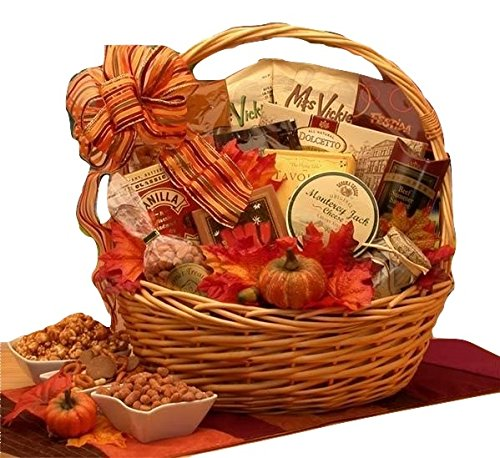 The Colors of Fall Gift Basket | Perfect Way to Say Happy Thanksgiving