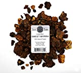 Saint Terra - Sweet Myrrh Opoponax Gum Incense Resin 8 oz (1/2 lb) - 100% Natural