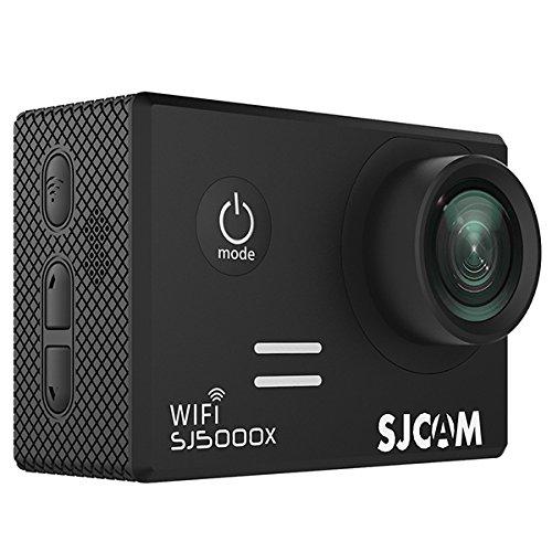 ウェアラブルカメラ SJCAM正規品 SJ5000X elite (シルバー) B07DNQ4RTB ブラック ブラック