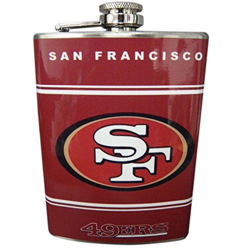 San Francisco 49ers Classic Logo Red Stainless Steel 8oz - Cheap Francisco San Shopping
