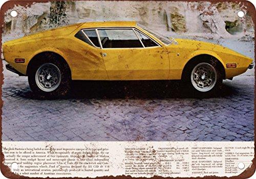 1971-de-tomaso-pantera-10-x-7-vintage-look-reproduction-metal-sign-3