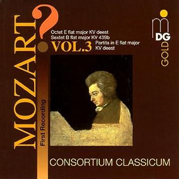 Risultati immagini per Consortium classicum Mozart KV deest 3