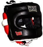 Deluxe Full Face GelTech Sparring Headgear for Boxing, Muay Thai, MMA, Kickboxing