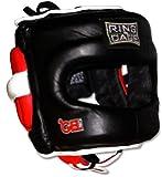 Deluxe Full Face GelTech Sparring Headgear for Boxing, Muay Thai, MMA, Kickboxing