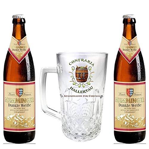 Kit de Cervejas Memminger Dunkel com Caneca Hallertau 500 ml
