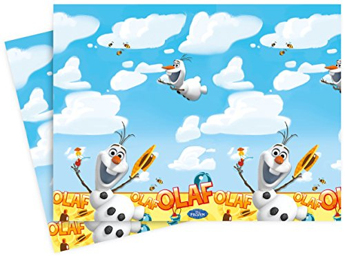Disney Frozen Tablecloth featuring Summer Olaf -