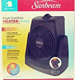 Sunbeam Dual Comfort Heater and Fan – Black For Sale