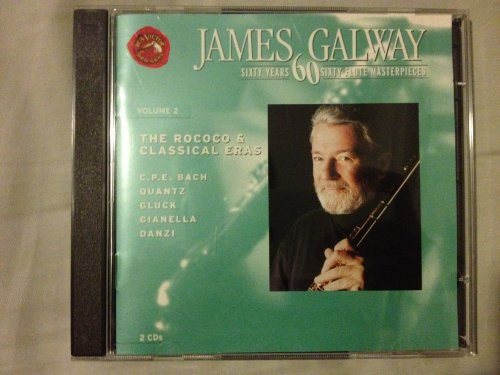 James Galway. Sixty Years. Sixty Flute Masterpieces. Volume 2. The Rococo and Classical - Flute 60s