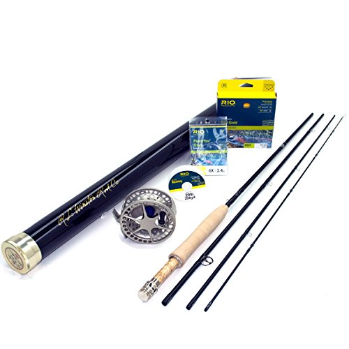Winston Boron IIIx 590-4 Fly Rod Outfit (9'0″, 5wt, 4pc) Review