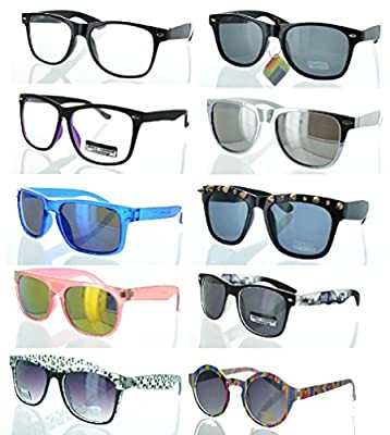 Mygoodie Sun Glasses Retro Mirror Vintage Style Shades Men Women Classic Mp4
