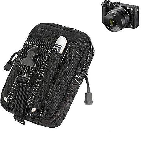 K-S-Trade® Bolsa del Cinturón/Funda para Cámara DigitalNikon Nikon ...