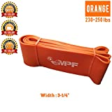 Resistance Bands for Crossfit Weightlifting Exercise ABS Workout-WOD Loop Bands Pull Up Stretch Band-Powerlifting Bands-Mobility Band – Extra Durable and Pull-Up Assist Bands | ORANGE Review
