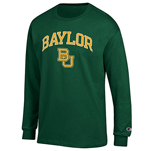 Baylor Bears Long Sleeve TShirt Varsity Green - L