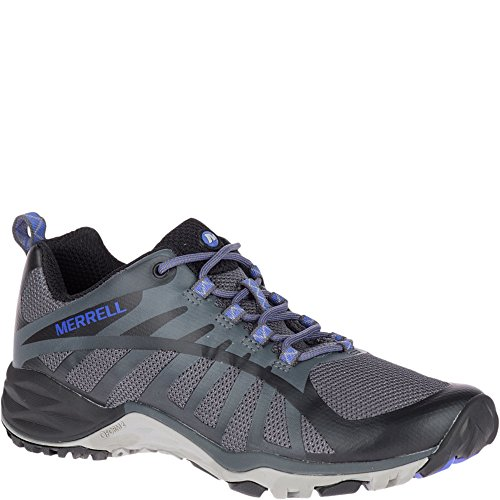 Merrell Women's Siren Edge Q2 Sneaker, Black, 9 M US (Best Walking Shoes For Supination)