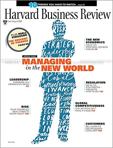 Books : Harvard Business Review: Managing in the New World, Vol. 87, No. 7-8 (July/August, 2009)