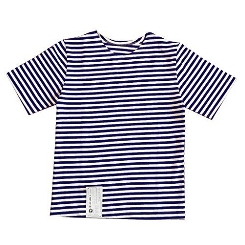 Mil-Tec Blue/White Striped Sailor T-Shirt (Medium) - Striped Sailor