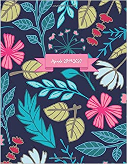 Agenda 2019-2020: One Day per Page Academic Planner ...