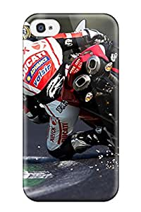 MirabelShaftesbury Case Cover Protector Specially Made For Iphone 4/4s Ducati