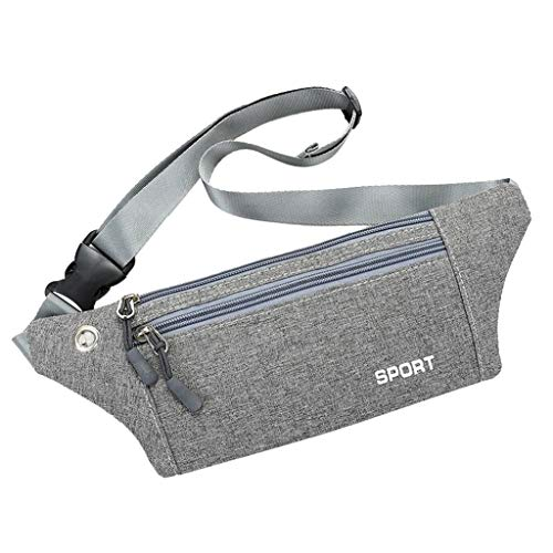 Outdoor Sports Carrying Case/Women Men Multi-Function Pockets Outdoor Sport Leisure Messenger Waist Packs Bag for Daily Wear