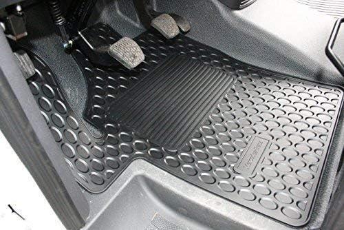 Mercedes Benz Original Satz 2 Teilig Gummi Fussmatten Schwarz Anthrazit W 639 Baujahr 2003 2010 Viano Und Vito Auto