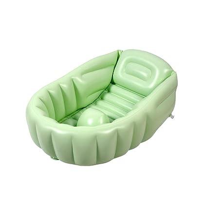 Cuscino Gonfiabile Per Vasca Da Bagno.Est007 Bath Tub Vasca Da Bagno Gonfiabile Verde Bambino Cuscino D