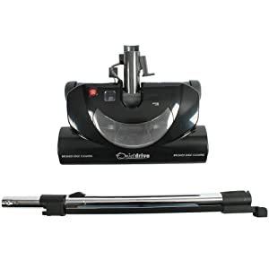 Cen-Tec Systems 94775 CT20QD Quiet Drive Central Vacuum Nozzle with Integrated Wand, Black