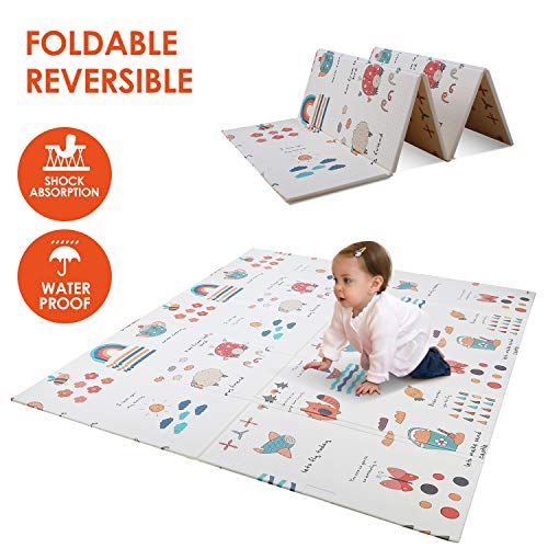 POTBY Foldable Baby Play Mat,79
