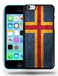 Aland National Vintage Flag Phone Case Cover Designs for iPhone 5C