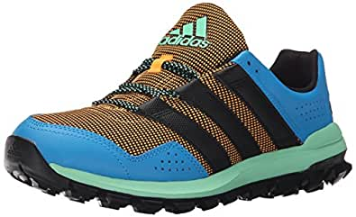 adidas Performance Men's Slingshot TR M Running Shoe,Gold/Black/Solar Blue,12 M US