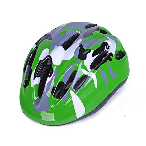 Bike Helmet For Kids Army Green (Camo Kids Bike Helmet)