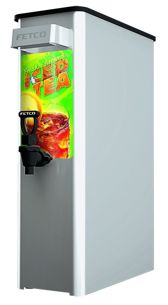 FETCO ITD-2135 D064W112 3.5 Gal Tea Dispenser, Stainless Steel, 3.5 gal